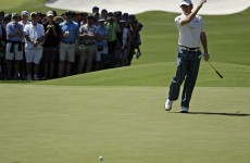 Mickelson on the march as Rory loses sight of green jacket