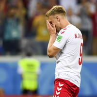 Denmark striker Jorgensen receives death threats after World Cup penalty miss