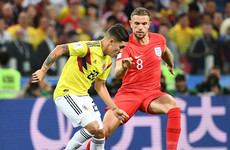 As it happened: Colombia vs England, World Cup last 16