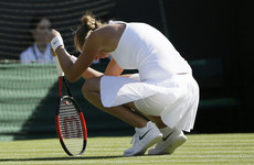 'I wanted it too much': The women's favourite for Wimbledon is out in the first round