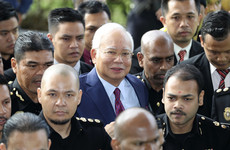 Ex-Malaysian prime minister Najib Razak charged in corruption scandal