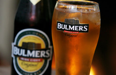 The heatwave has helped put an end to Bulmers' sliding cider sales