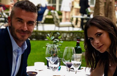 The Beckhams dropped €1.8k on a bottle of wine for date night, as you do... It's the Dredge