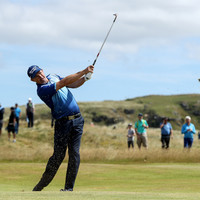 'My short game was good enough to handle the odd bad shot': Harrington one off the lead at Irish Open