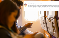 Was it really necessary to document that airplane 'love story' in real-time?