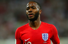 Sterling proud of England for refusing to rise to Colombia's 'silly' antics