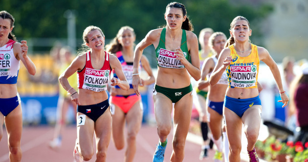 Sophie O'Sullivan finishes strongly to win 800m heat on Ireland debut