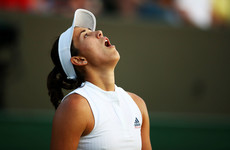 Defending champion Muguruza dumped out of Wimbledon in another big shock