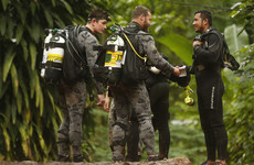 Thai military diver dies as window for cave rescue narrows