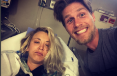 Kaley Cuoco ended up in hospital on her honeymoon... It's The Dredge