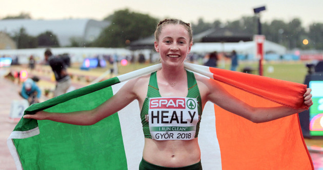 Ireland's Sarah Healy dominates the field to claim brilliant gold at European Championships