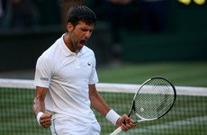 Novak Djokovic criticises 'coughing and whistling' fans at Wimbledon