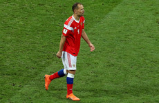Russia's most-capped player of all time retires following World Cup exit