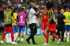 Giroud on Henry's Belgium-France dilemma: 'I'd have preferred him with us!'