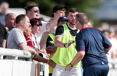 Sligo goalkeeping coach resigns following altercation with supporters
