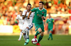 Legia take slender lead back to Warsaw after snatching late winner in Cork