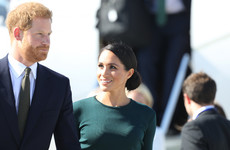 Meghan Markle and Prince Harry have landed in Ireland