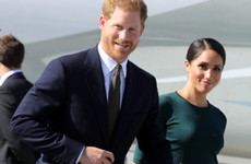 Photos: Harry and Meghan arrive in Dublin for their first official visit to Ireland