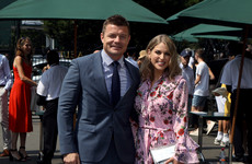 Just 11 celebrities who have been serving looks at Wimbledon