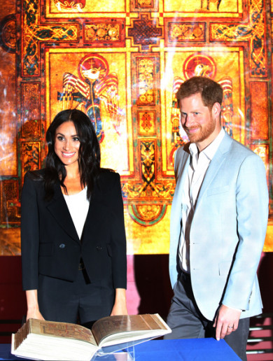 Pictures: Meghan and Harry have been hitting the tourist trail in Dublin