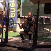 Irish teenager Serena Pierce on making a big impression in the powerlifting world