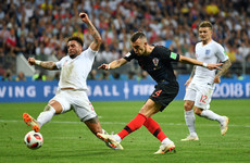As it happened: England v Croatia, World Cup semi-final