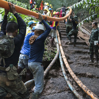 Thai cave rescue 'nearly ended in disaster' after water pumps failed
