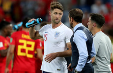 Chelsea's Cahill to discuss England future with Southgate after limited game time at World Cup