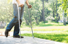 Leo wanted the HSE to save money by re-using crutches, but was told it was a non-runner
