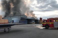 Nine fire units battling blaze at Cork timber factory