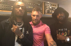 Conor McGregor went to Longitude yesterday and sparred with Migos