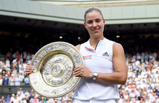 Kerber stuns Serena's history bid in Wimbledon final as German records first ever title