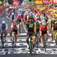 Dan Martin suffers crash as Dutch ace Groenewegen makes it back-to-back stage wins