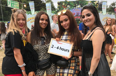 This is how long it took the guys and gals of Longitude to get ready