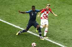 As it happened: France vs Croatia, World Cup final