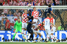 Here are all the goals from today's World Cup final