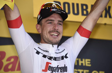 Car crash victim Degenkolb back in business on Tour