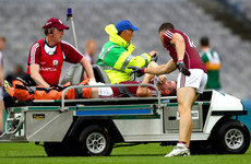 Blow for Galway as key man Conroy suffers nasty double leg-break in Kerry win