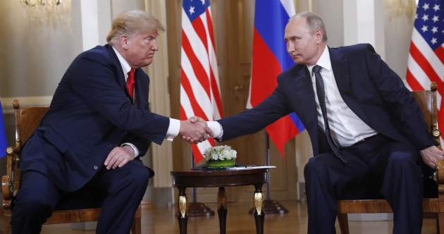 Trump promises an 'extraordinary relationship' as he opens summit with Putin