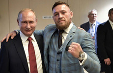'Putin one of the greatest' - UFC star McGregor praises Russia president after World Cup final