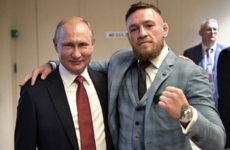 Twitter is raging with Conor McGregor for dubbing Putin 'one of the greatest leaders of our time'