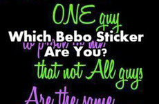 Which Bebo Sticker Are You?