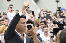 'Players my age go to China or Qatar': Ronaldo vows to show he's 'different' at Juve unveiling