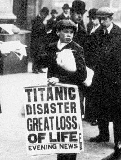 In pictures: The aftermath of the Titanic tragedy