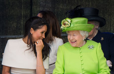 There's a gas theory circulating that the Queen threw some serious shade at Donald Trump