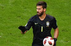 Alisson confirms Roma departure amid reports of world-record fee to join Liverpool