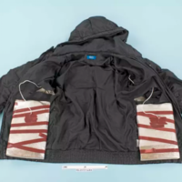 Photo: Replica 'suicide jacket' UK police used to catch man plotting to kill Theresa May