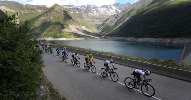 Thomas triumphs in yellow, but booed on Alpe d'Huez