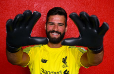 Liverpool complete signing of Alisson in world-record deal for a goalkeeper