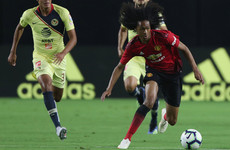 Mourinho hails Dutch teenager Tahith Chong after impressive Man United cameo